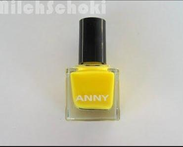 "NotD - ANNY ""sunshine in my heart"" - ihhh, gelbe Nägel"