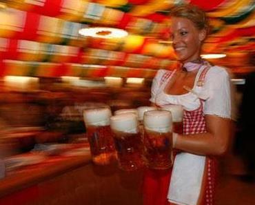 Ein Bierfestival in Berlin
