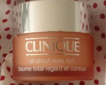 Favorite #6 - Clinique All About Eyes Rich