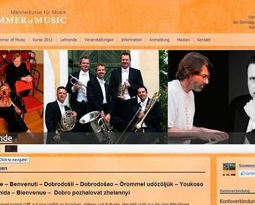 Summer of Music im Europeum Mariazell