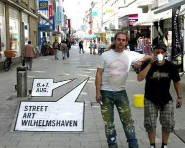 Die Kunst liegt auf der Straße