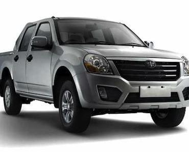 Premiere, GM zeigt Pick-up für 6.500 Euro in China