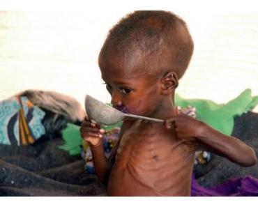 Hungersnot in Ostafrika