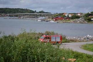 Rettungsdienst auf den Schären vor Göteborg