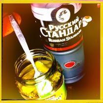 gürkchen mit Vodka