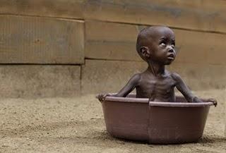 Kindersterblichkeit infolge Hungersnot erschreckend hoch
