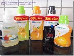 SodaStream Sirup–Wasser mit Geschmack