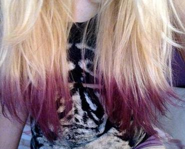 Result: Purple Tips.