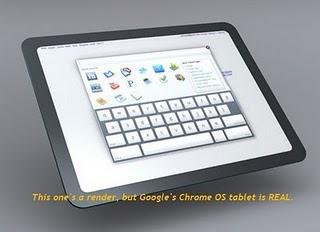 iPad Rivale: Google Chrome OS Tablet soll am 26. November erscheinen