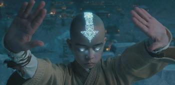 Filmkritk zu 'Die Legende von Aang'