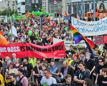 """Aufruf zur Großdemonstration """"Freiheit statt Angst"""" 2010 in Berlin"""