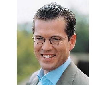 Der schneidige Herr zu Guttenberg