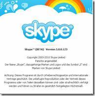 Skype 5.0.0.123 Beta Update