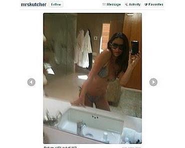 Demi Moore twittert Bikini-Fotos