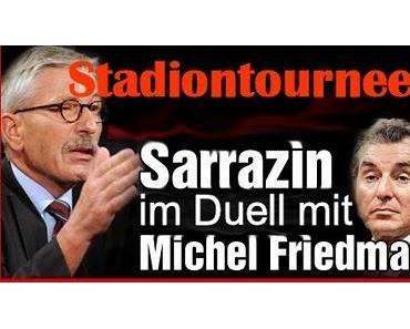 Sarrazin: Mit krude Thesen auf Tournee