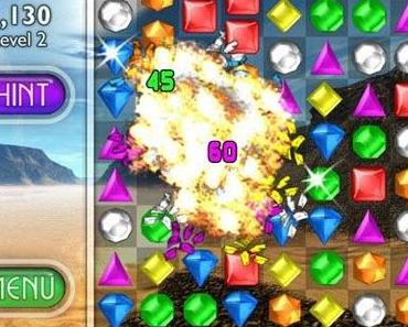 "Derzeit kostenlos: Puzzle-Klassiker ""Bejeweled 2 + Blitz"""