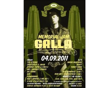 """Galla Memorial Jam"" am 04.09.2011 in Bochum"