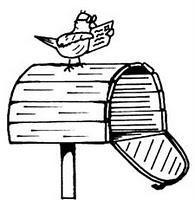 in meiner Mailbox/ Briefkasten und Gewinn