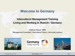 Interkulturelles Training für Deutschland
