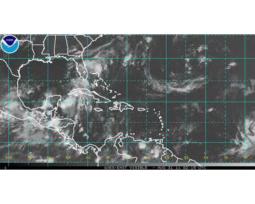 Live Satellitenbild: Wo befindet sich KATIA gerade, wo genau ist KATIA jetzt in diesem Moment?