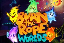 "Big Blue Bubble kündigt ""Burn the Rope""-Nachfolger ""Burn the Rope: Worlds"" an"