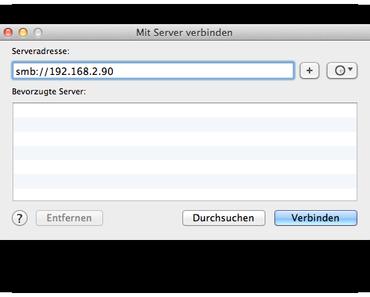 Freigaben unter OS X Lion automatisch einbinden