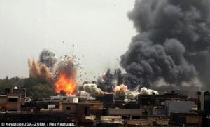 Libyen: Bani Walid im Nebel
