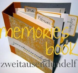 erinnerungsbuch // memories book // august