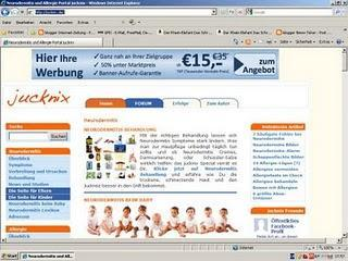 jucknix.de ist das große deutsche Neurodermitisportal