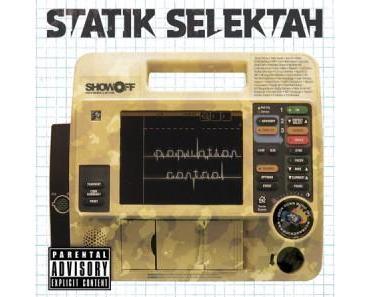 "Statik Selektah – ""Population Control""   Tracklist & Cover"