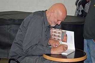 Der Cartoonist und Künstler Jan Lööf in Göteborg