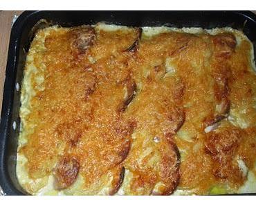 Kartoffel-Wurst-Gratin