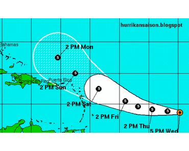 Tropischer Sturm OPHELIA: Karibik inklusive Dominikanischer Republik und Punta Cana könnte verschont bleiben