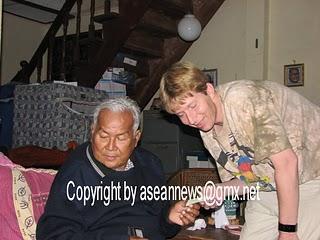 Burma; letztes Interview mit dem verstorbenen Präsidenten aller Ethnischen Gruppierungen Burmas und Chairman der Karens