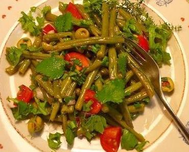 Mediterraner Bohnensalat
