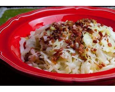 Warmer Krautsalat mit Speck