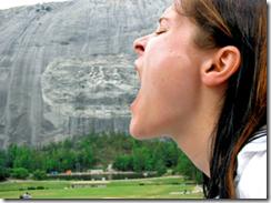 Heute schon einen Stein gegessen?