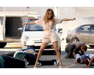Jennifer Lopez in der Fiat 500 Werbung