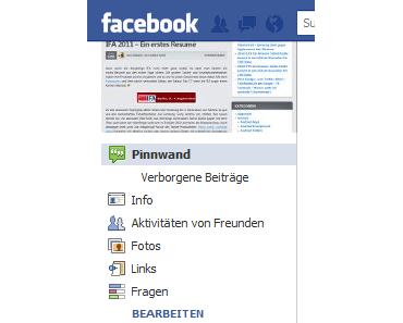 """Facebook Fanpage: """"unterhalten sich darüber"""""""