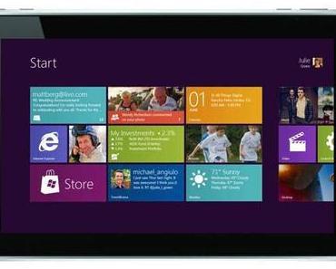Lieber Windows als iOS: Tablet- Nutzer wollen lieber Windows-Tablets.