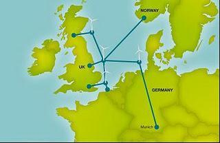 The Future for electricity transmission in Europe and the integration of wind power