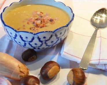Marroni-Crème Suppe