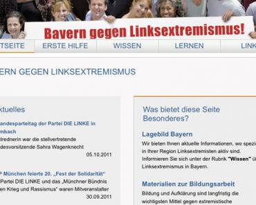 Bayern gegen Linksextremismus: Bashing auf Staatskosten