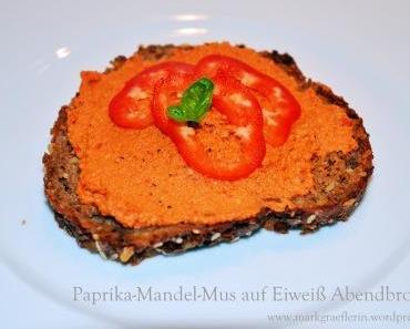 Statt Butter auf's Brot: Paprika-Mandel Mus