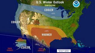 La Niña: Wettervorhersage USA Winter 2011 / 2012 (generell)