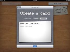 Smart Cards – erstellen Sie Ihren eigenen Lernkarten auf dem iPad2