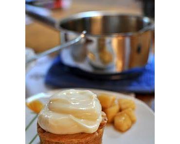 Apfel-Zimt-Muffins mit Frischkäsecreme