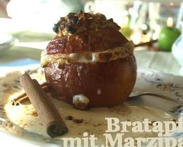 Sonntagssüss: Marzipan-Bratäpfel mit Blogger Besuch