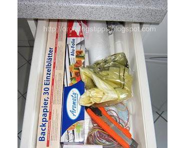 10 Minuten Aufräumen - Küchenschublade