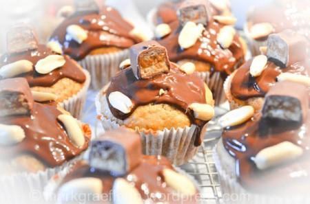 Ideen für's Halloween Buffet Nr. 4: Trick or Treat?! – Snickers Muffins